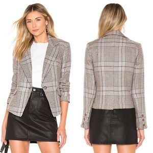 Free People NWT Chess Blazer Multi